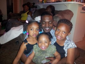 Lamont Jenkins seen with family members in a photo on Facebook.