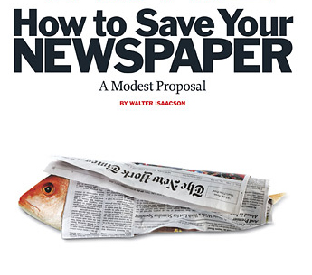 save newspapers, show use for newspaper