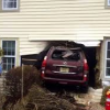 Drunk Driver Barrels SUV Through Home in Norwalk, No One Injured