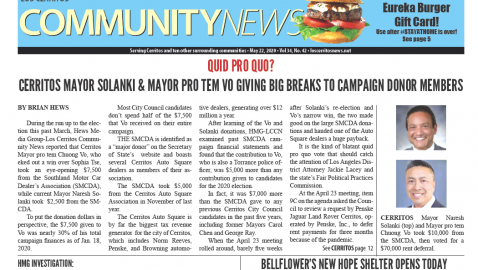May 22, 2020 Hews Media Group-Los Cerritos Community News eNewspaper