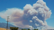 Fire Over 12,000 Acres Near Banning
