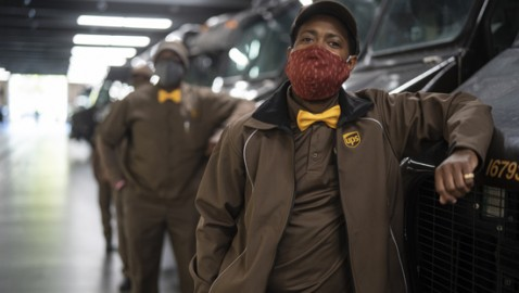 UPS Drivers Will Don Gold Bowties to Deliver Holiday Wishes Early