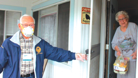 Meals on Wheels Holding Steady During Pandemic