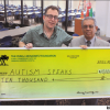 MOSKOWITZ FOUNDATION GRANTS $10,000 TO CALIFORNIA AUTISM SPEAKS