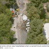 Cement truck overturns in Beverly Hills, killing off-duty LAPD officer