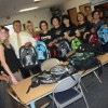 Hundreds of New Backpacks Donated to Homeless, Low Income ABCUSD Students