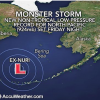 Monster Storm Becomes Strongest on Record for Alaska