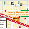 Breaking News: Navy Memorial will now be the site of largest protest on the Inaugural Parade Route