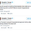 WAG THE DOG: Trump's Twitter Trail Shows the Hypocrisy of His Administration's Syria Bombing
