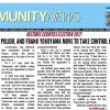 April 28, 2017 Hews Media Group-Community News Front Page Preview