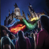 'The Nighttime Lights at Hogwarts Castle' Featured at The Wizarding World of Harry Potter at Universal Studios Hollywood