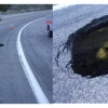 State Route 2/Angeles Crest Highway ClosedDue to Sinkhole