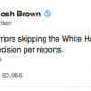 Golden State Warriors Tell White House and Donald Trump to 'F$%^ OFF!'