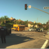 Two Car Wreck Snarls Traffic in Serrano Heights at Parkhurst/San Lorenzo Court and Serrano Ave.