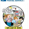 USPS Stamp Out Hunger Drive May 12, 2018-Place Bag of Non-Perishable Food Next to Mailbox for Collection