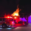 Fire Engulfs Cerritos Home, Emergency Personnel Limit Blaze to Second Story