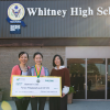 Whitney High Student and World Math Champion Hannah Chen Receives Edison Scholarship