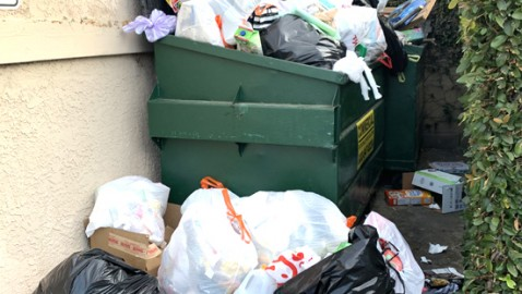 Trash Is Piling Up All Over Hawaiian Gardens With Plenty of Blame to Go Around