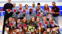 CIF-SS DIVISION IV GIRLS VOLLEYBALL FINALS: Gonzales, Quinlan power underdog Valley Christian to upset win against top-seeded Norco