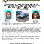 Suspects Darnell Washington, Tania Washington wanted in Sunday's attempted murder shooting of LASD Deputy in South El Monte