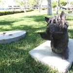 Four 'Child' Art Pieces Kidnapped From Cerritos Shopping Center