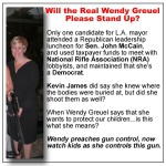 Image of Wendy Greuel Holding Semi-Automatic Weapon Hits Social Media Friday Afternoon