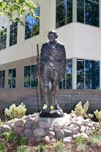 Statue of Gandhi comes under fire in Cerritos. File Photo