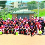 Far East meets Far West in trio of softball games