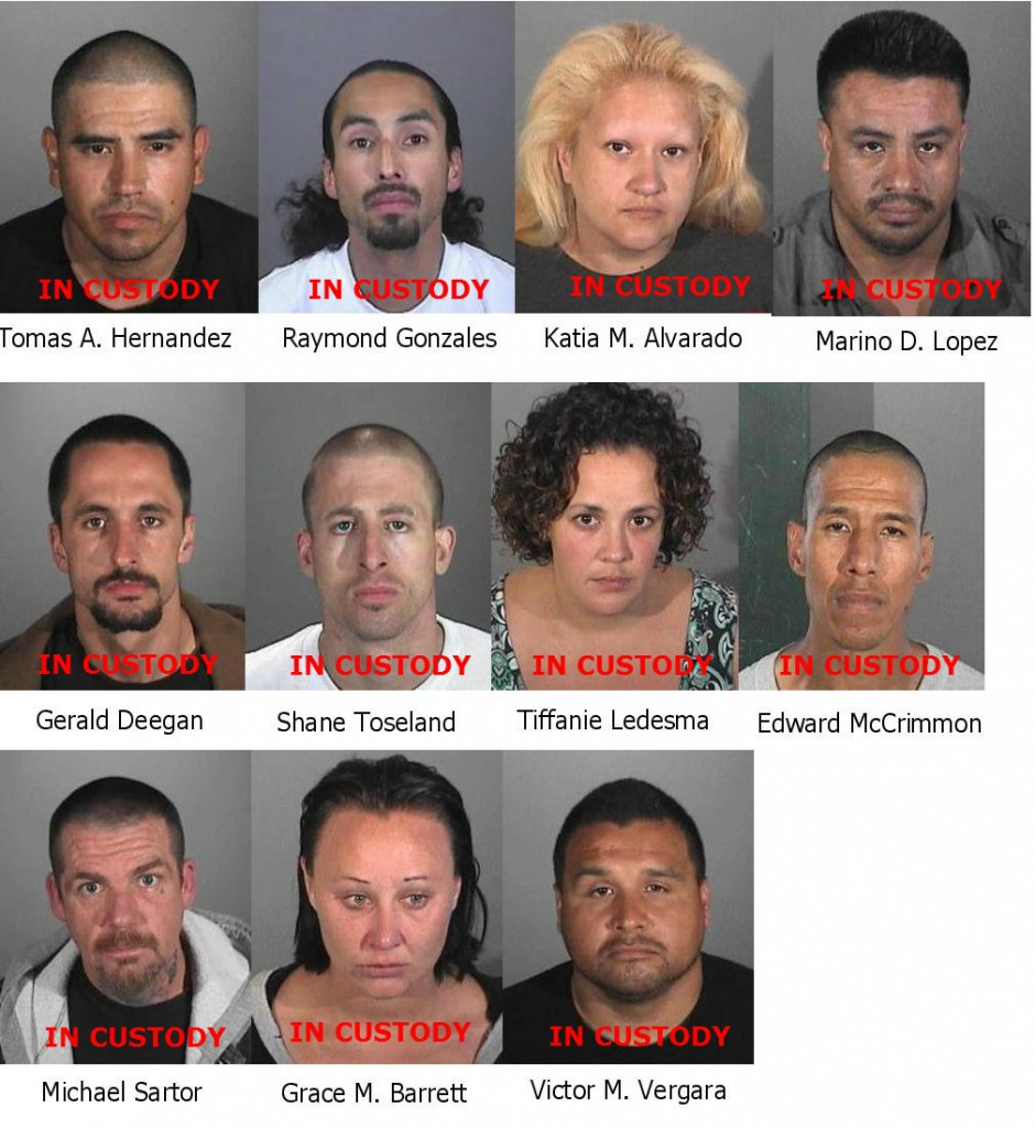 11 Arrested Four Wanted In Local Area Vehicle Theft Ring Hews Media Group Cerritos Community News
