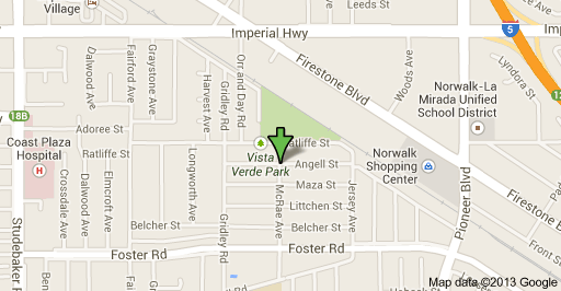 Location of murder in Norwalk early Thursday morning is at 11500 block of Angell Street.