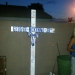 Norwalk Family Searches for Stolen Memorial Cross of Slain Teenager