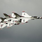 Six F-16 Thunderbirds To Take Trial Spin Above Colorado Boulevard on New Year's Eve Morning