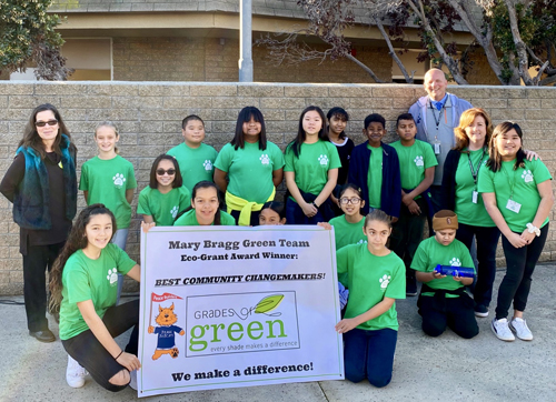 Bragg Green Team, (original image courtesy of ABCUSD)