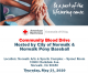Community Blood Drive  May 21 at the Norwalk Arts and Sports Complex