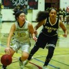 605 LEAGUE BASKETBALL :Cerritos girls survive hostile homecoming crowd to get past Whitney, stay in tie for second place