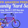 Downtown Anaheim Will Host Community Yard Sale