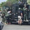 SWAT AND FBI ARREST SUSPECT IN COMMERCE