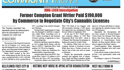 September 27, 2019 Hews Media Group-Los Cerritos Community Newspaper eNewspaper