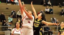 605 LEAGUE BASKETBALL : Whitney's new freshman superstar single handily beats Artesia